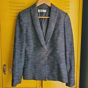 Tahari blue blazer